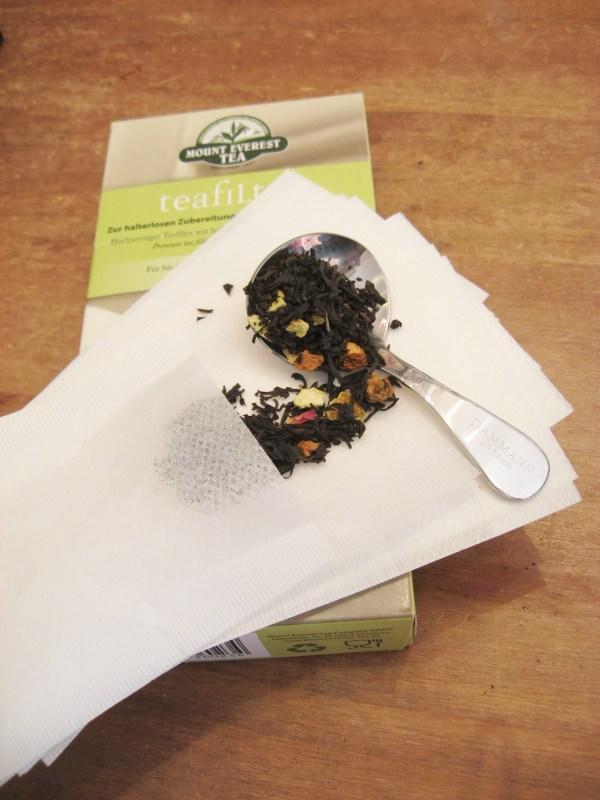 Filtres à thé en papier - en aparthé
