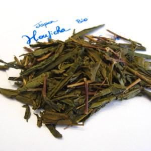 Houjicha bio - thé vert du Japon - en aparthé - Boutique en ligne