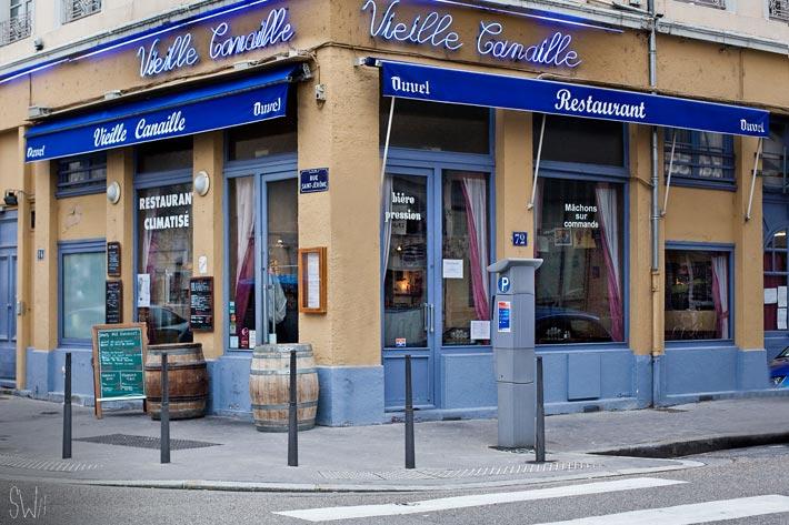 Vieille Canaille - Restaurant - Lyon - partenaire