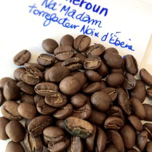 café du cameroun - noix d'ébène- enaparthélyon- boutique en ligne