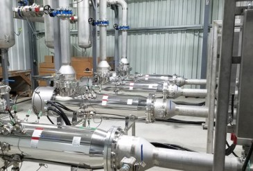 UV water treatment in the beverage industry