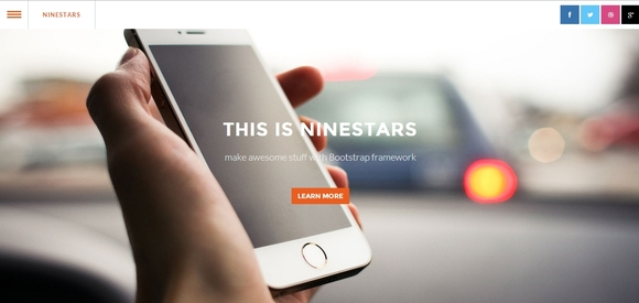 Ninestars - Best Free Bootstrap Templates 2014