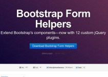 Useful List of 50 Must Have Twitter Bootstrap Plugins for Designers 2