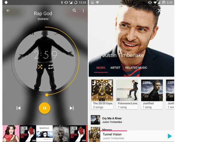 Timber - Music Player Android App