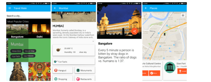 Travel Mate - Android Travel App
