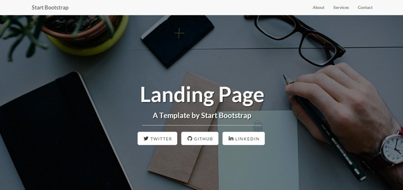 Landing Page - Best Free Bootstrap Templates 2014
