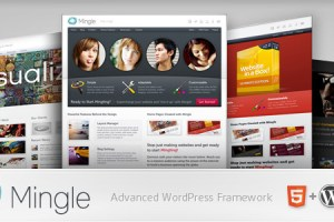 Collection of Best HTML5 WordPress Themes of 2012 27