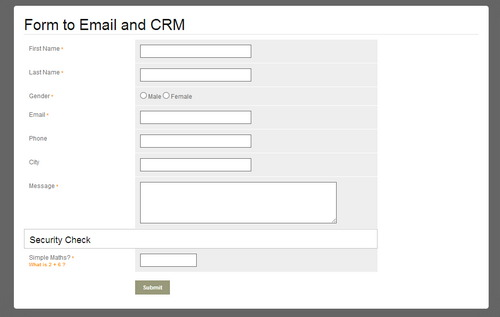form to mail