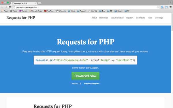 request - Userful PHP libraries for developers