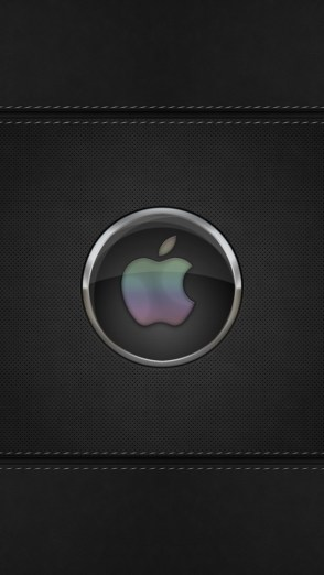 HD Abstract iPhone 5 Wallpaper- black orb apple