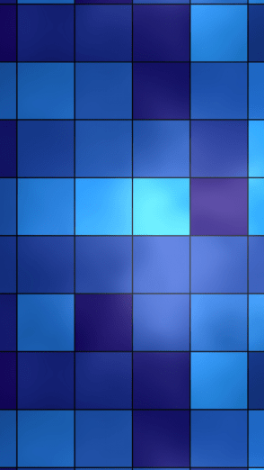 HD Abstract iPhone 5 Wallpaper- Blue grid