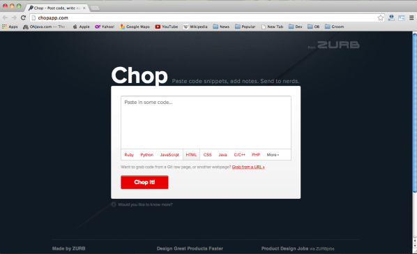 Best online tools for testing code snippets - chop