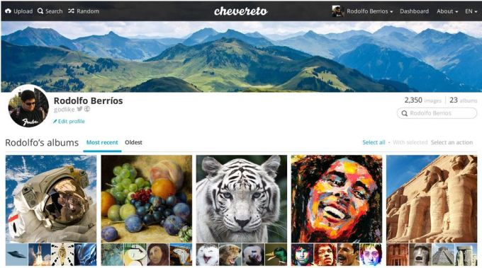 Chevereto - One of the Best Image hosting scripts