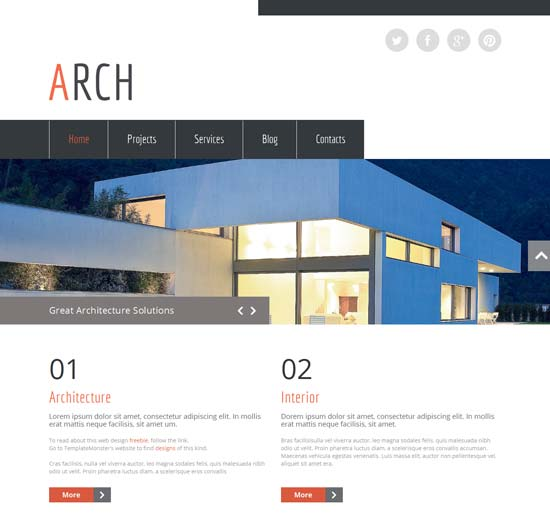 free-HTML5-Templates-for-architecture-site