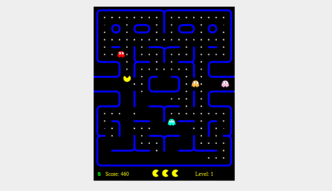 open-source-pacman-game