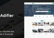 Adifier - WordPress Classified Theme