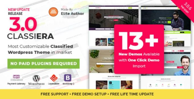 Classiera Classified Ads Theme