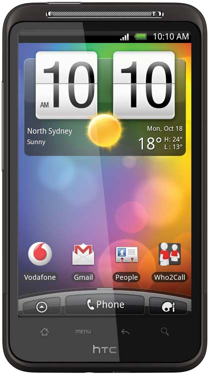 Setup Hotmail Emails On Your HTC Desire HD 1