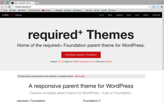 Top 10 Best Free WordPress Theme Frameworks 7