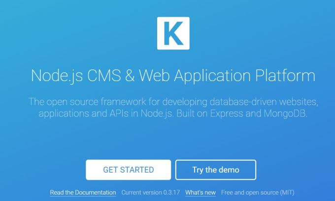 7 Best Node js CMS Frameworks To Use in 2019