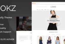 Lookz - Multipurpose shopify theme