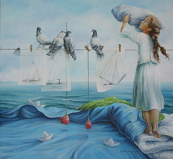 15+ Amazing Collection of Surreal and Beautiful Paintings 15