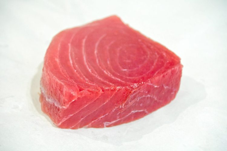 Filete de atún natural