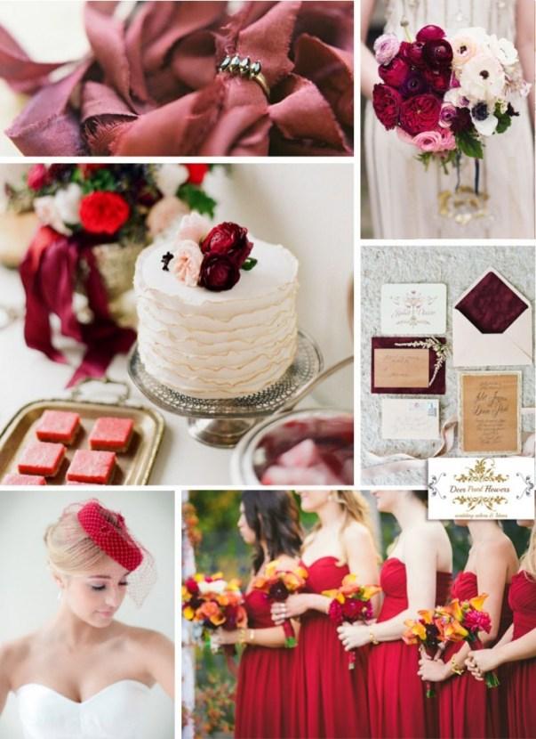 Marsala-red-wedding-color-palette-for-spring-2015-744x1024
