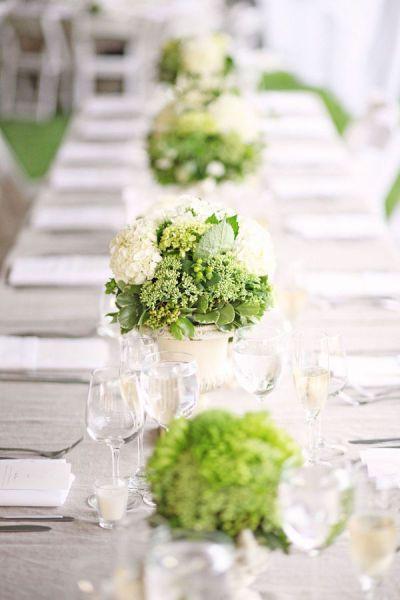 bodas color verde