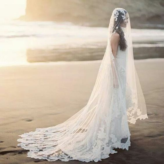 opciones para el velo de novia