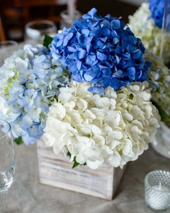 ideas boda color azul