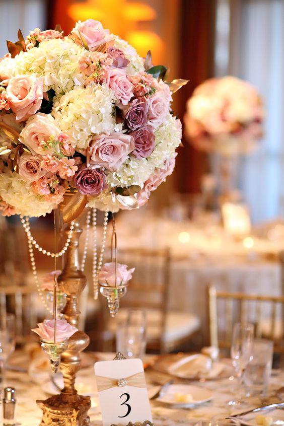 Tipos de flores para la decoración de la boda