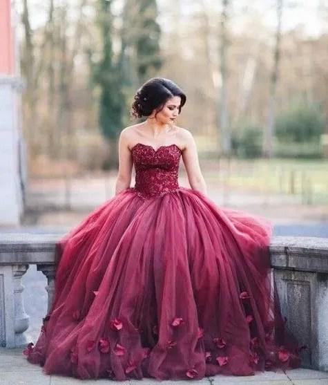 bodas color vino