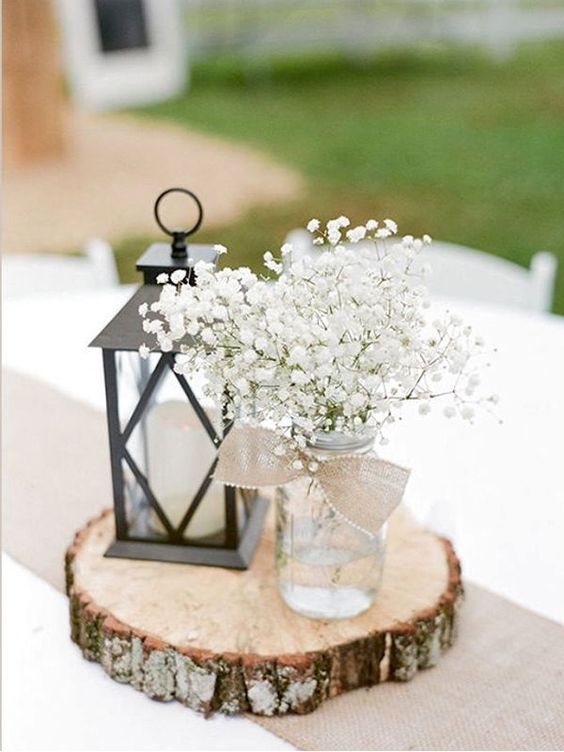 Cómo decorar una boda rústica