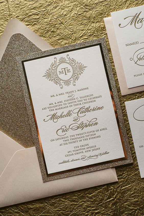 invitaciones boda otoño
