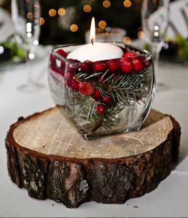 decorar tu boda en Navidad