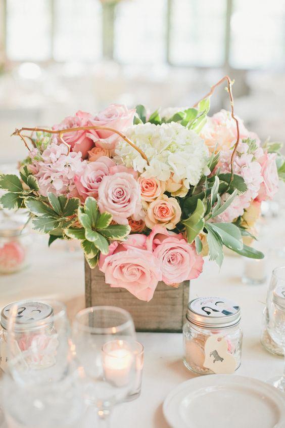 Decoración de mesas para la celebración de tu boda 2017