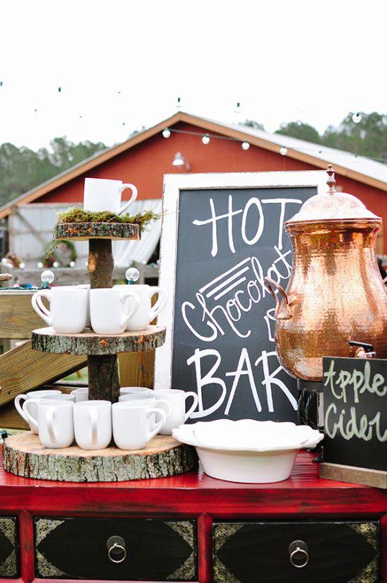 coffee bar para una boda