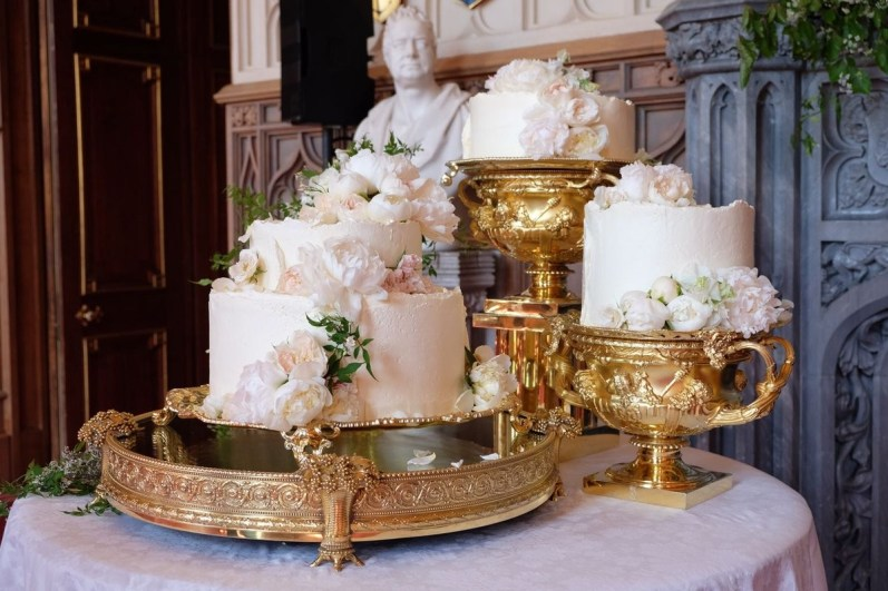 bizcocho de la boda real