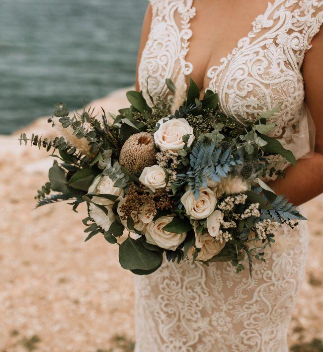 ideas de ramos de novia para otoño