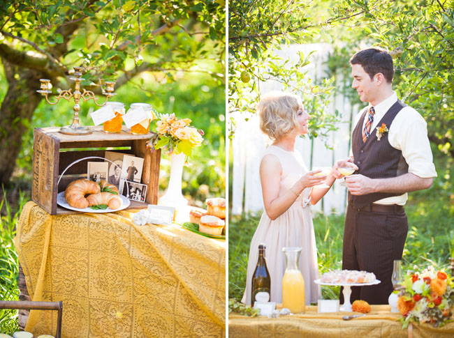 breakfast weddings