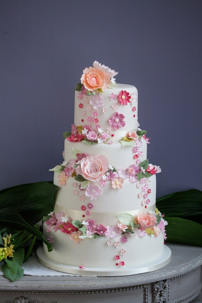 spring wedding cakes, Bizcochos para Primavera