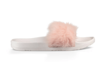UGG Royale fluff slides pink