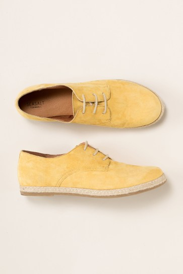 Seasalt Seasong shoe yellow