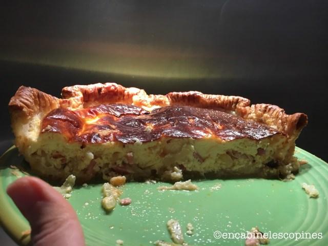 recette quiche lorraine pâte épaisse comme chez le boulanger
