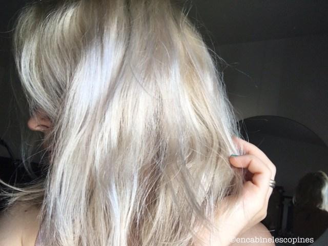 Coiffance soin Recoiffant déjaunir cheveux blonds
