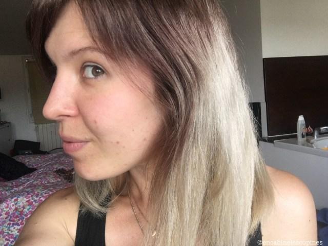 réaliser un ombré hair seule à la maison luocolor blond foncé