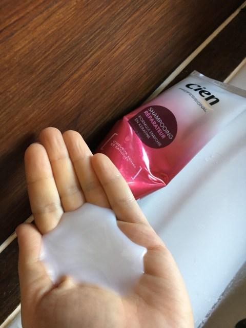shampoing et soin Réparateur à la Kératine Cien, Lidl.