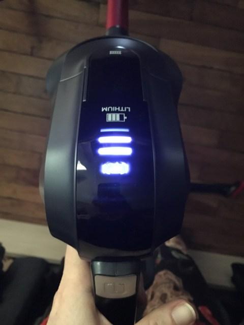 le balai aspirateur ultimate lithium de chez Taurus