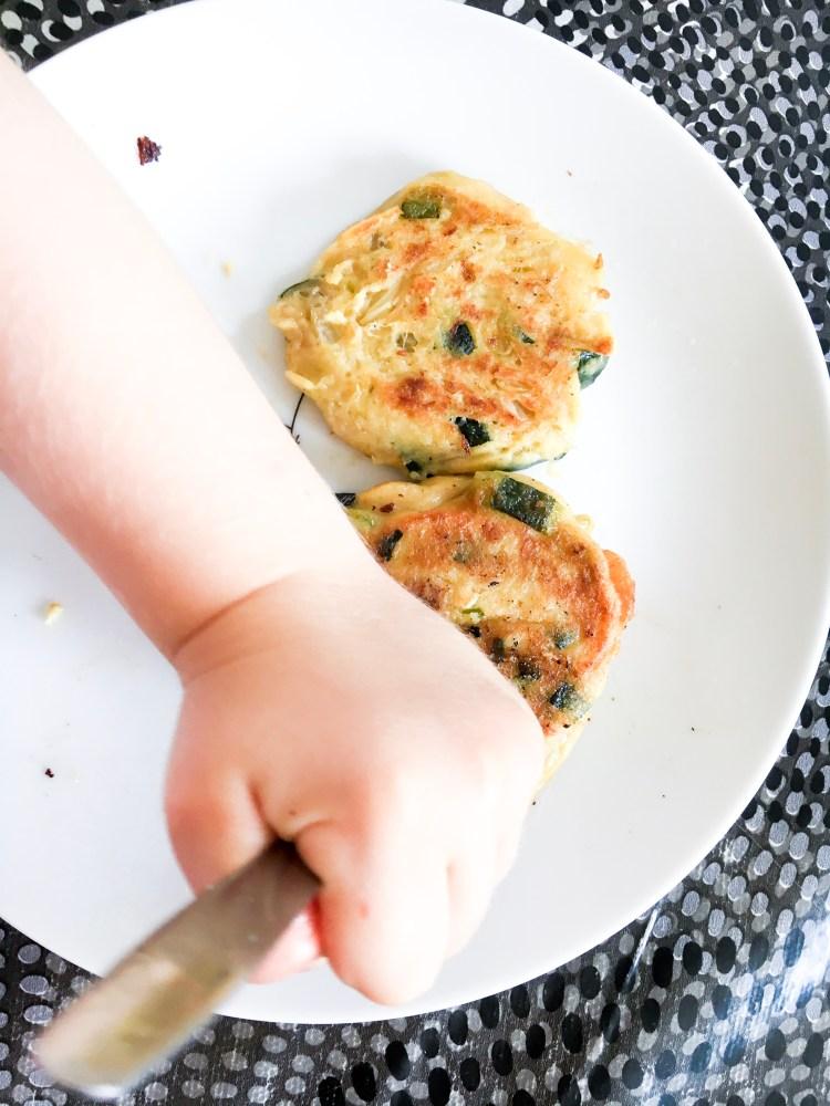 galette pour faire manger des légumes aux enfants
